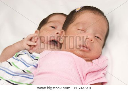 Beautiful Twin babies