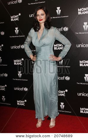 LOS ANGELES - MAR 6: Eva Green at the Montblanc Charity Cocktail hosted by The Weinstein Company to benefit UNICEF held at Soho House in Los Angeles, California on March 6, 2010.