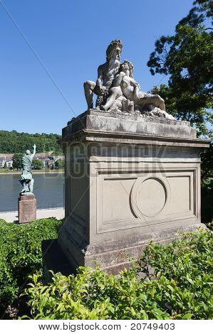 Rhine Statues