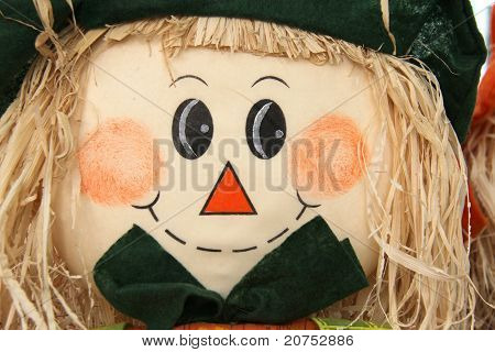 face of scarecrow