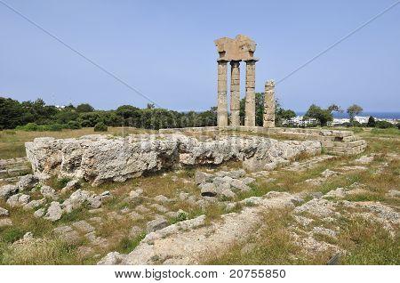 Temple of Pythian Apollo