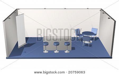 Basic Blank Fair Stand