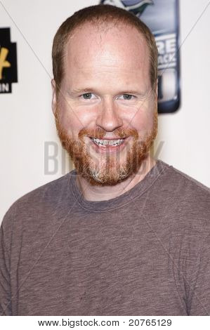 SAN DIEGO - JUL 22: Joss Whedon at the 'GPhoria Strikes Back' party hosted by G4 and Lucasfilm during Comic-Con 2010 held at the Hard Rock Hotel in San Diego, California on July 22, 2010.