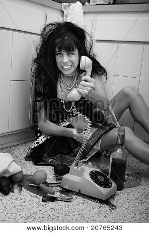 Upset Drunk Women
