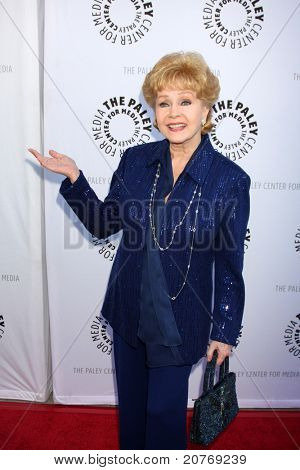 LOS ANGELES - JUN 7:  Debbie Reynolds arrives at the Debbie Reynolds Hollywood Memorabilia Collection Auction & Auction Preview at Paley Center For Media on June 7, 2011 in Beverly Hills, CA