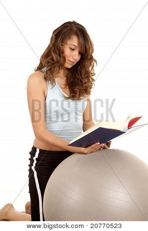 Kneeling Ball Book