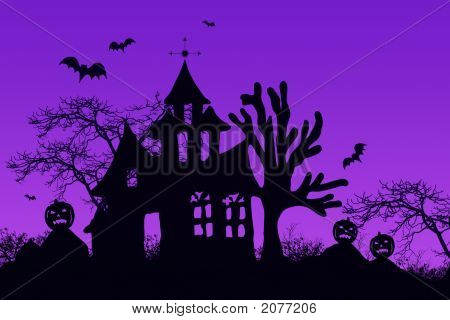 Haunted Halloween House