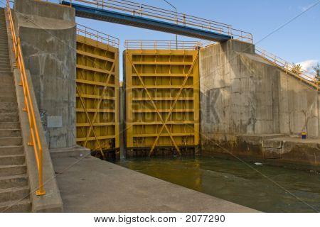 Lower Canal Lock Doors