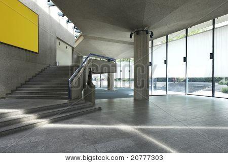 Interior of a Congress Palace, hall