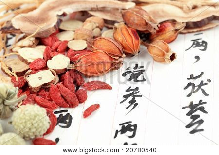 Traditional Chinese medicine with prescription