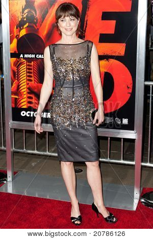 HOLLYWOOD, CA. - OCT 11: Rebecca Pidgeon arrives at the Los Angeles special screening of Red at Grauman's Chinese Theatre on Oct. 11, 2010 in Hollywood, California.