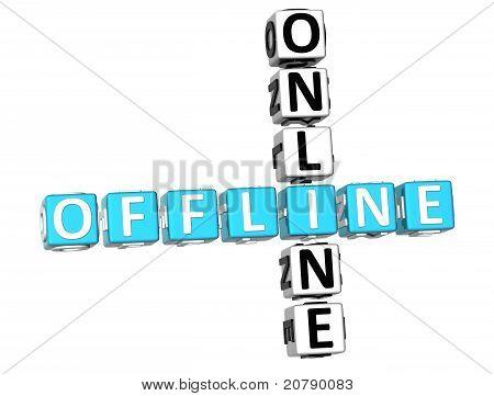 3D Offline Online Crossword