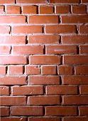 The photo of grunge brick wall background