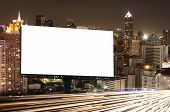 Billboard Night Or Outdoor Advertising poster