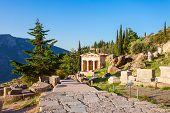 Delphi Ancient Sanctuary, Greece poster
