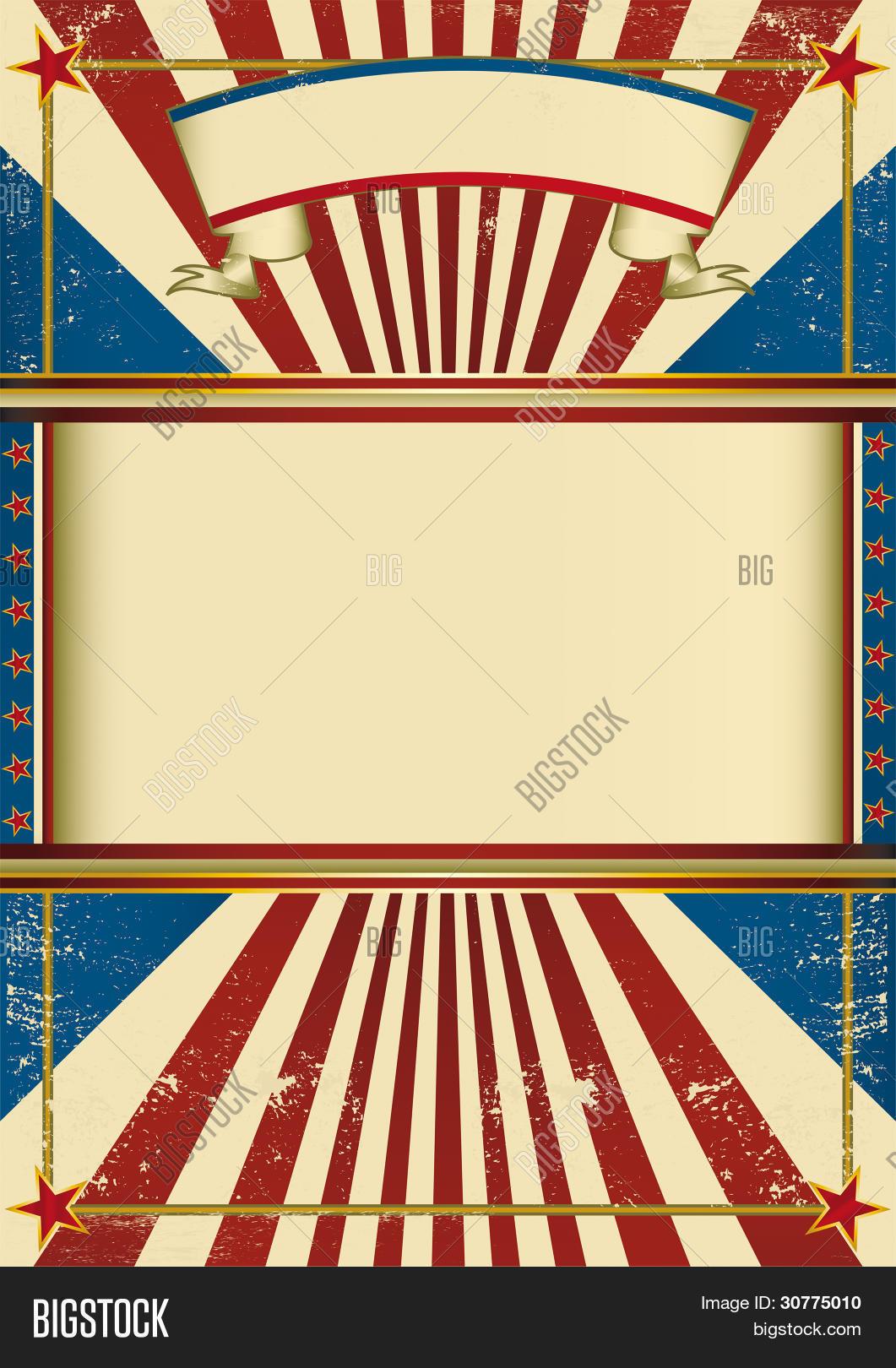 Vintage Poster Circus. Vintage Vector & Photo | Bigstock