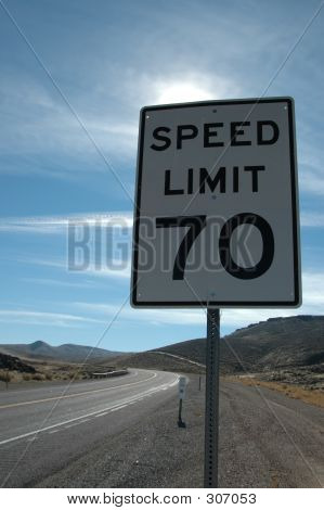 Speed Limit 70