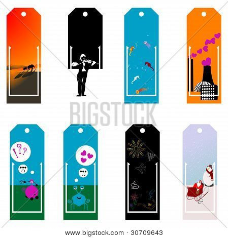 Cute Set Of Bookmarks