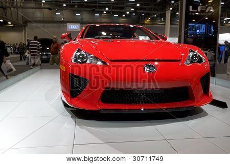 Lexus Lfa Sportscar
