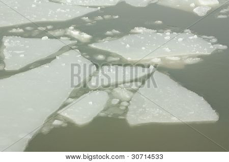 Ice In A Harbour