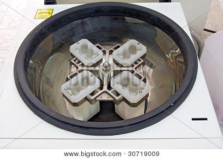the centrifuge