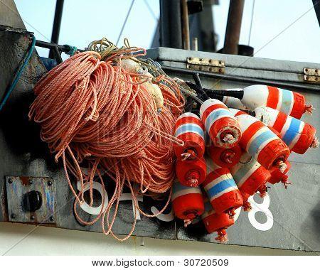 Fishing Floats in Newport Harbor