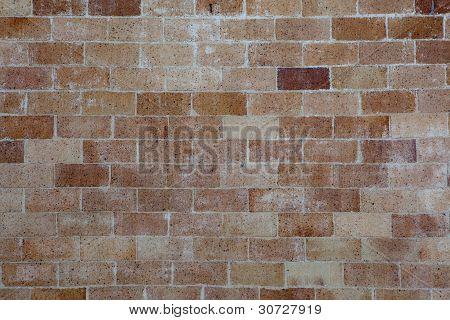 Weathered Brick Wall Background