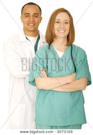 Successful Medical Staff