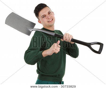Gardener With A Spade
