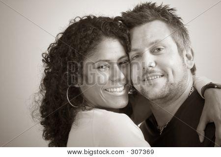 Diverse Couple; Closeness
