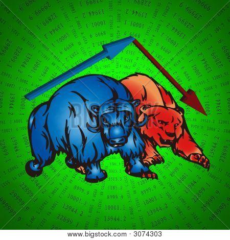 Touros e urso