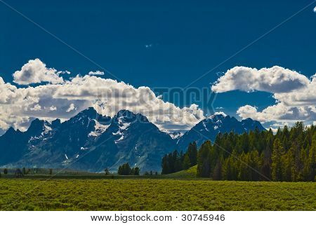 Grand Teton Peaks
