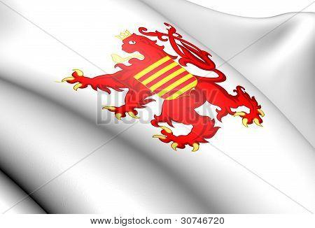 Flag Of Limburg, Belgium