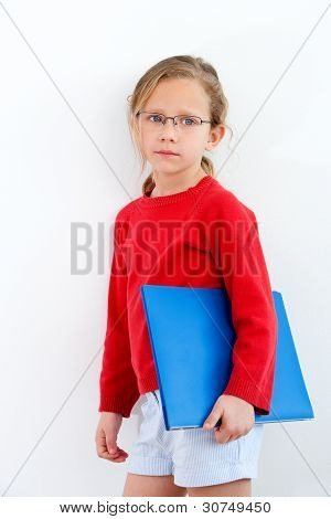 Young Student With Notebook.