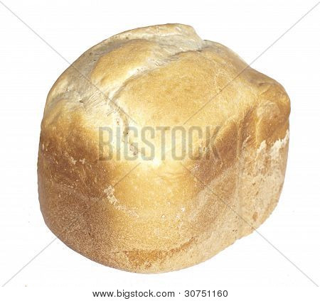 White baked homemade bread