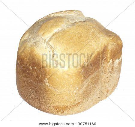 White baked homemade bread