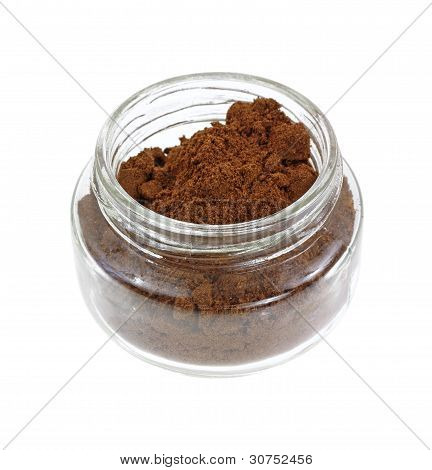 Small Jar Allspice Overhead View