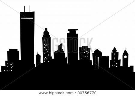 Cartoon Minneapolis