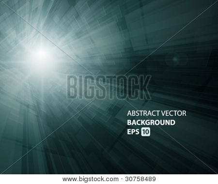 Virtual technology vector background. Eps 10.