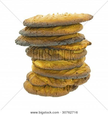 Stack Burned Cookies