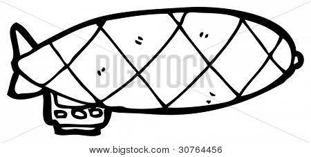 desenhos animados de Zeppelin