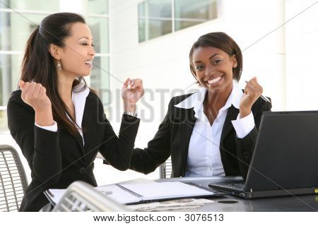 Diverse Business Women