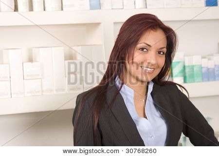 Beautiful Retail Worker