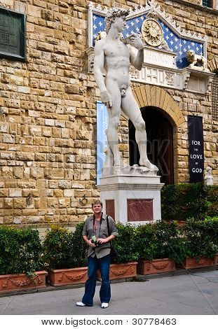 Estatua de David, Florencia, Italia