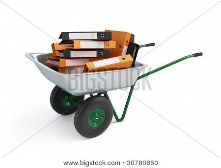 Wheelbarrow Folders