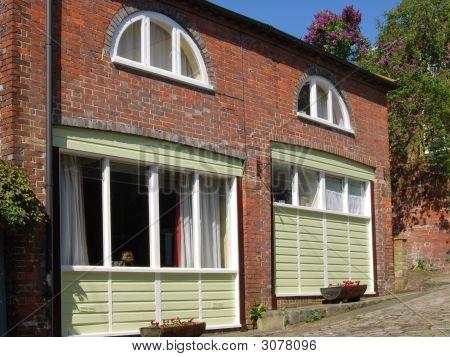 Casas de la ciudad. Arundel. West Sussex. Inglaterra