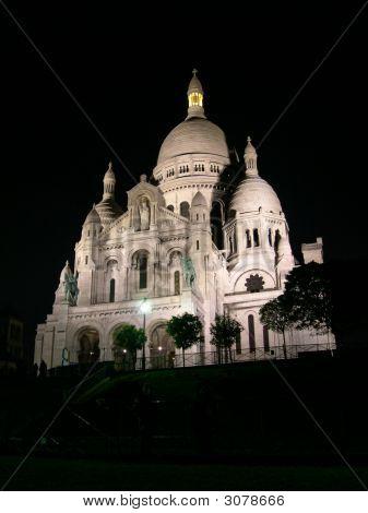 Sacre Coeur Night