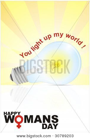 Woman's Day Bright Bulb