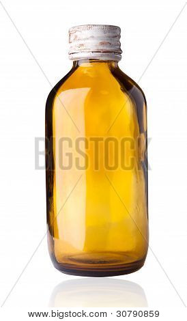 Old Fashioned Drug Bottle.