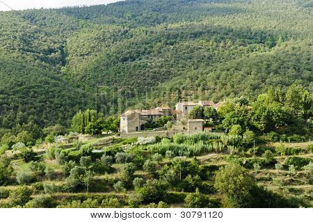 Old Farm In Tuscany